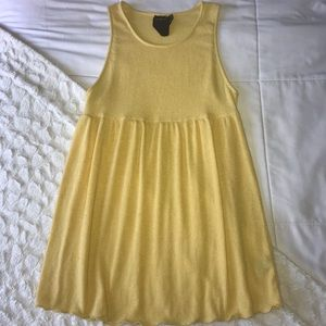 Urban Outfitters yellow tank top
